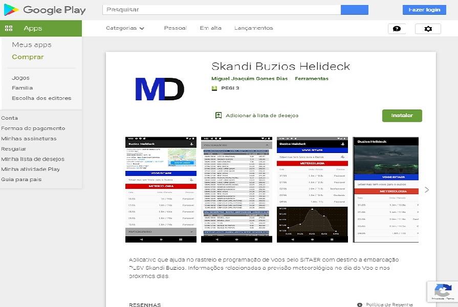 App Android Skandi Buzios